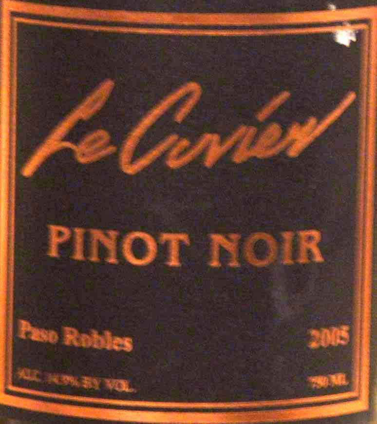 lecuvier05 willamette valley russian river valley pinot noir paso robles i m h o gamay beaujolais